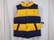 Polo Ralph Lauren Puffer Vest Boy's size 7 Retail $115