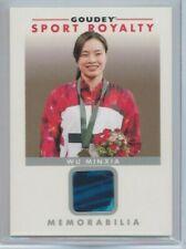 2017 Upper Deck Goodwin Champions Wu Minxia Goudey Sport Royalty Memorabilia