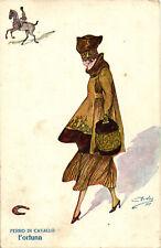 """Minos (Mario Gazzera) - Art Deco - """"Donnina"""", Lady - Ferro di Cavallo - M009"""