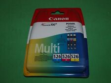 Genuine Original Canon 526 multipack Cyan Magenta Yellow