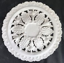 PR04 Pierced Ceiling Rose in Fibrous Plaster - 480mm - COLLECTION ONLY