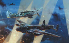 No Turning Back by Robert Taylor Fw190 Lancaster w/ issues