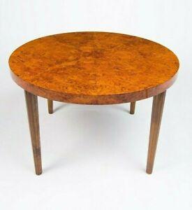Elegant Mid Century Coffee Table Walnut Swedish Sofa Furniture Vintage Danish