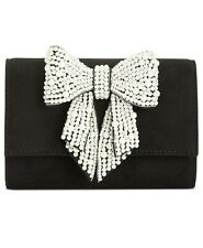 INC Maraa Pearl Bow Clutch Black Purse - $79.50 - NWT