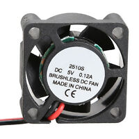 New 2510S Micro 5V Cooler Brushless CPU DC Fan 25*10mm Mini Cooling Radiator