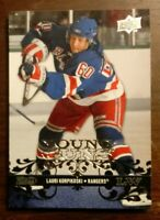 2008-09 UD YOUNG GUNS LAURI KORPIKOSKI NY Rangers Rookie RC #230 SP COMB SHIP