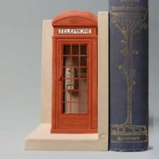 Red London Telephone Box Single Bookend