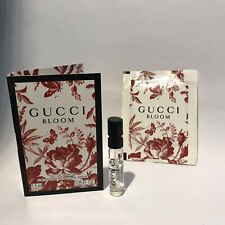 Gucci Bloom Eau de Parfum sample 1,5ml & Launch Stickers