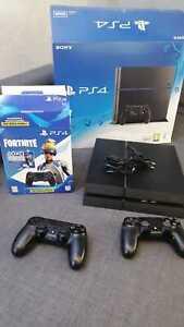 Sony PlayStation 4/PS4 500GB - Schwarz - OVP - BUNDLE (zus. Controller+3 Spiele)