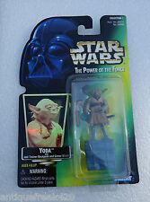 Vintage Star Wars-1997-The Power Of The Force-Yoda With Jedi Trainer Backpack