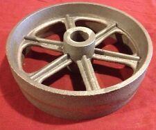 10 Inch Cast Iron Wheel Hit & Miss Gas Engine  Cart Truck Fairbanks IHC