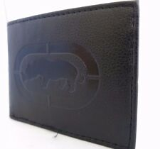 Brand New Mark Ecko Men's Wallet Black Genuine Leather Bi-fold 100% Authentic