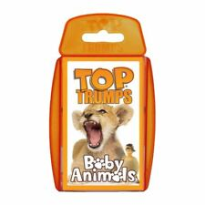 TOP TRUMPS BABY ANIMALS CARD GAME BRAND NEW