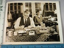 Rare Historical Orig VTG 1944 M C Baker Mrs Gardner Stout Red Cross WWII Photo