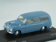 1/43 SKODA 1201 Combi, 1954, blau,  limitiert 1000 Stück