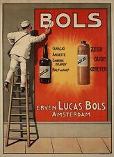 US Seller- bols reclame affiche liquor ad retro poster shabby chic wall decor
