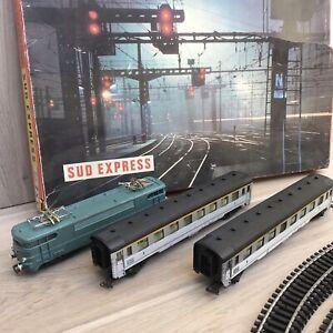Ancien TRAIN JOUEF COFFRET SUD EXPRESS
