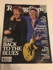ROLLING Stones magazine Rolling Stones cover December 2016