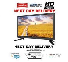"""NEW LOW WATT 12V 20"""" TV LED HDMI PVR 12 VOLT CARAVAN CAMPER VAN DIGITAL FREEVIEW"""