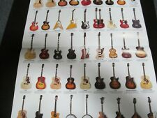 """Epiphone Guitar & Bass Instrument Pre-folded Poster 24"""" X 17"""""""