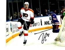 New listing Jason Akeson autographed signed NHL Philadelphia Flyers 8x10 photo