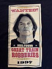 *1997 Neil Young* vtg rock concert tour t-shirt (Xl) 80's 90's Crazy Horse Band