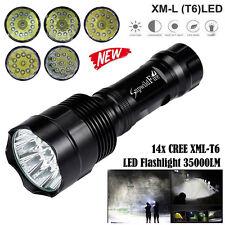 Super Bright 35000LM  Zoom XM-L T6 LED 5-Mode 18650 Flashlight Torch Lamp Hot