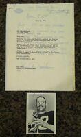 BEN DAVIDSON (d.2012), Oakland Raiders DE, signed letter