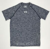 New Under Armour Men's S Big Twist Shirt Training Basketball Football S/S Blue