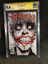 CGC 9.4 SS Detective Comics #880 signed 2 X Jock & Scott Snyder