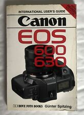 Canon EOS 600 & 630 user guide