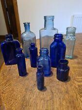 More details for 10 blue chemist bottles