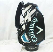 New Callaway Rogue Staff Golf Bag Black - White Staff Bag Premium Full Size
