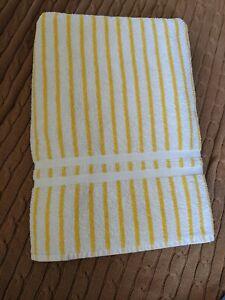 Ralph Lauren Vintage Beach Towel   USA Made   Nautical  Pure Cotton