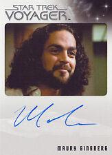 Star Trek Voyager Heroes & Villains Maury Ginsberg Autograph Card