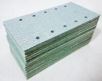 Rhodius Klett Schleifblätter 115x230 mm 10 Loch Schleifpapier Streifen 100Stk
