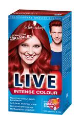 Schwarzkopf Live Color 033 Scandalous Scarlet Intense Colour
