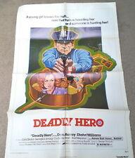 Deadly Hero Movie Poster Folded  Don Murray