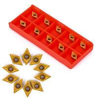 10pcs/box DCMT070204 YBC251 Carbide Inserts For Lathe Turning Tool Boring Bar
