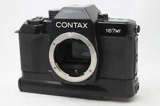 Contax 167MT SLR Film Camera Body Only *Problem* #B006a