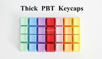 Blank Thick PBT Keycaps Key Caps OEM Height for Cherry MX Mechanical Keyboard