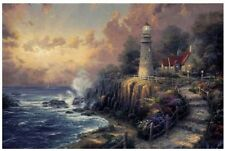 Paint By Number Kit (16 By 20-Inch), 21786 Light Of Peace By Thomas Kinkade