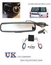 vw caddy rear reversing camera rear view mirror monitor 4.3 inch parking