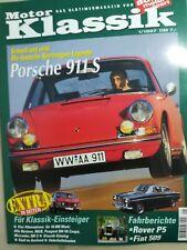 Motor Klassik 01/ 1997- Porsche 911S, Rover P5, Fiat509, Alfa, Peugeot, Mercedes
