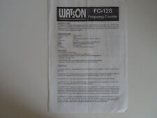 Watson FC-128 (solo illustrativo)... RADIO _ Trader _ Irlanda.