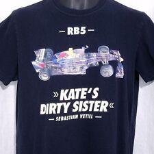RB5 Red Bull Racing T Shirt Sebastian Vettel Kates Dirty Sister Formula 1 Medium