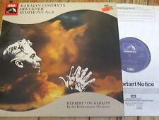 SXDW 3024 Bruckner Symphony No. 8 / Karajan 2 LP set