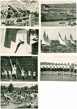 Kosmos Zigarettenbilder Sammelbilder Sammelkarten Olympiade Helsinki 1952