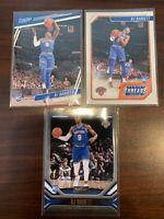 2019-20 Panini Chronicles NBA RJ Barrett Lot (3) Rookie Cards Knicks
