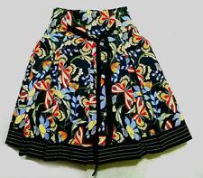 J Crew Floral  A-Line Skirt